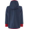 Finkid Tove Shell Zip-In Jacket Kids Navy/Red